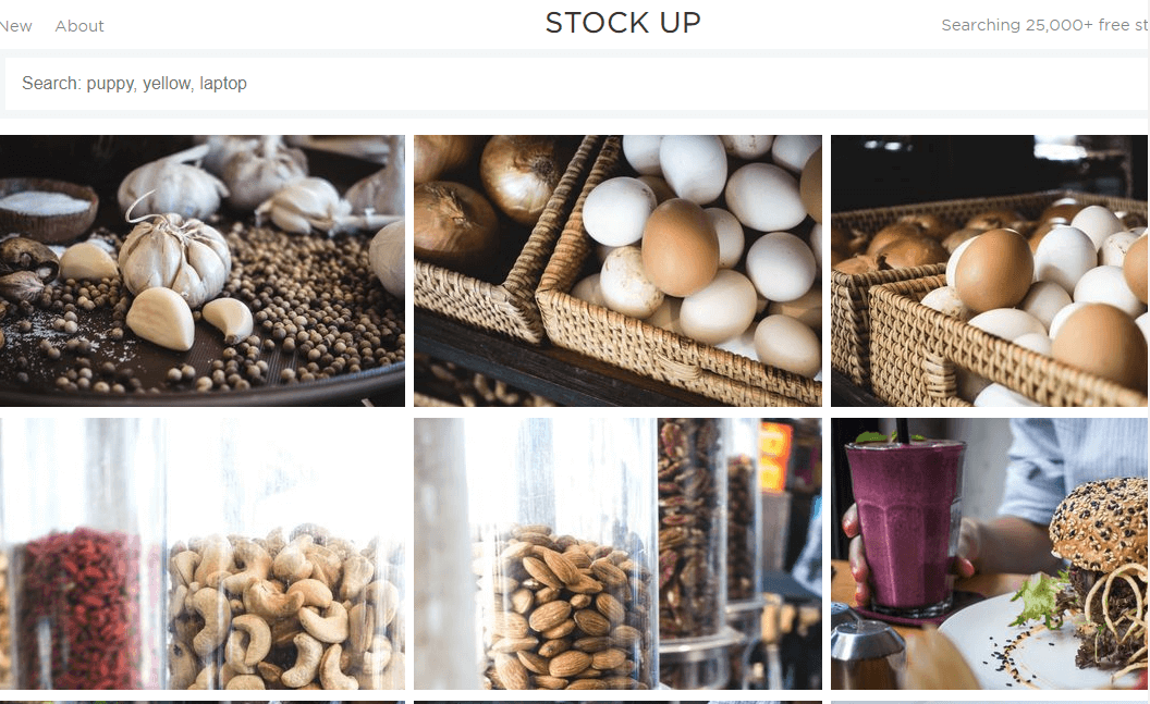 STOCK UP