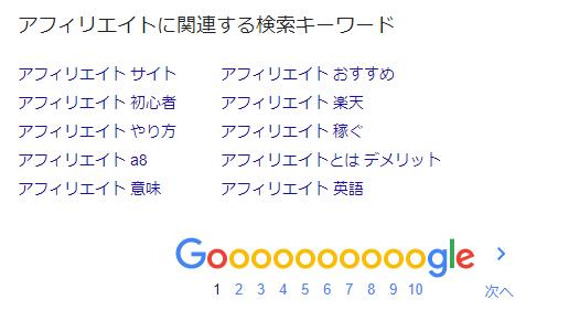 Googleアフィリエイト